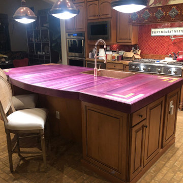 Custom Kitchen Island Countertop