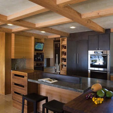 Asian Kitchen by Mueller Nicholls Cabinets and Construction