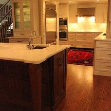 Traditional Kitchen by Misch Bobrick Design LLC