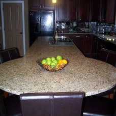Modern Kitchen by Artistic Marble and Granite