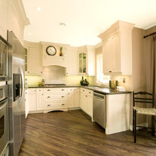 Contemporary Kitchen by Wynter Interiors Inc