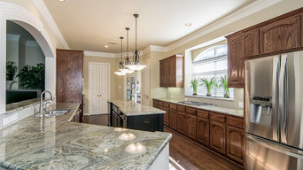 Custom Kitchen Remodel in Traditional McKinney Home