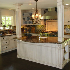 mediterranean kitchen by Barbara Stock
