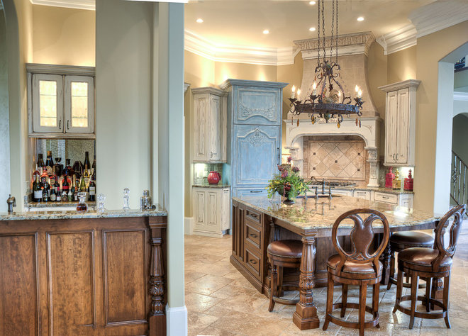 Traditional Kitchen by Simply Southern Interiors LLC