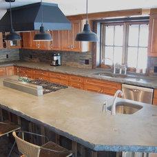 Rustic Kitchen by McGregor Designs