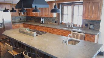 Custom Kitchen with Large Island
