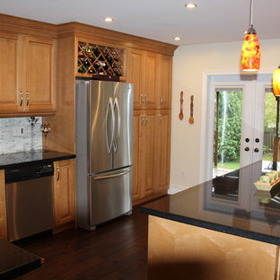 Inspiration for a timeless kitchen remodel in Toronto