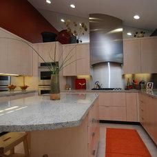 Contemporary Kitchen by CSI Custom Homes