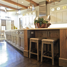 Transitional Kitchen by Northshore Millwork, LLC
