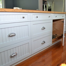 Traditional Kitchen by Northshore Millwork, LLC