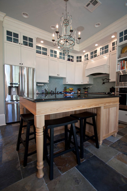 Traditional Kitchen by Northshore Millwork, LLC