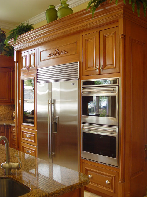 Best Refrigerator Next To Oven Design Ideas Remodel Pictures Houzz
