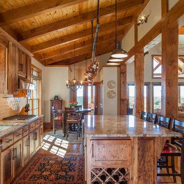 Custom Log & Timber Frame Home