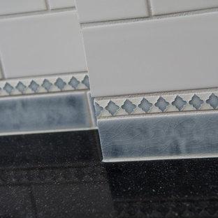 Custom Made Ceramic Tile Backsplash
