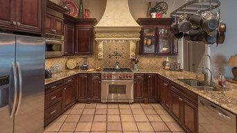 Custom Maple Cappuccino Cabinets