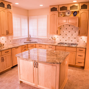 Custom Maple Traditional Style Kitchen in Sterling Virginia