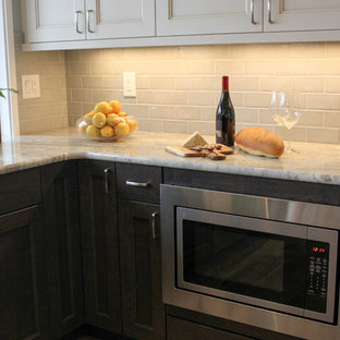 Transitional kitchen appliance - Inspiration for a transitional kitchen remodel in Seattle