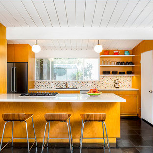 Custom Mid-Century Kitchen