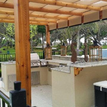 Custom Outdoor Kitchen Design