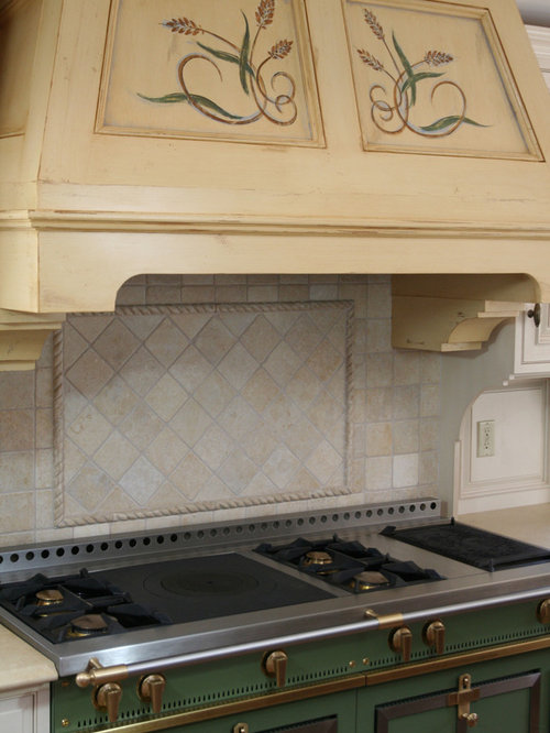 diagonal tile backsplash houzz