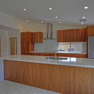 Custom Palm Desert Modern Kitchen