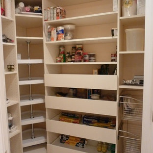 Custom Pantry, pull-outs, lazy susan