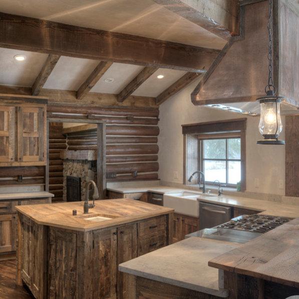 Rustic Kitchen Jobs: Kitchen & Bath