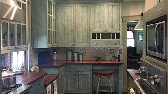 Custom Reclaimed Barn Wood Kitchen #8