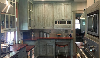Custom Reclaimed Barn Wood Kitchen #8