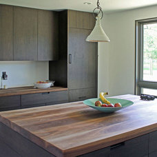 Traditional Kitchen by The Southside Woodshop