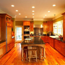 Traditional Kitchen by Chicone Cabinetmakers
