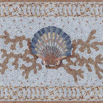 Custom Shell Stone Mosaic