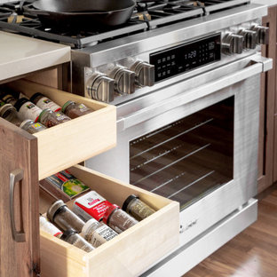 Custom Spice Roll Out Organizers for the Hard Working Kitchen.