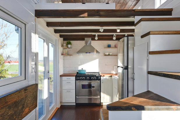Admirable Houzz Tour A Tiny House Packed With Style Largest Home Design Picture Inspirations Pitcheantrous