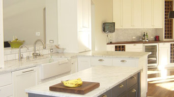 Custom Traditional Painted Kitchen