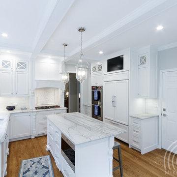 Custom Traditional White Kitchen