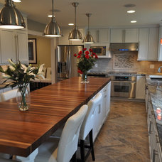 Kitchen Countertops by The Southside Woodshop