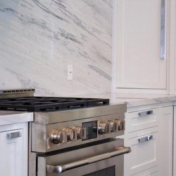 Custom White Inset Kitchen