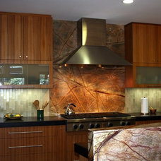 Contemporary Kitchen by Mathis Construction