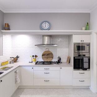 75 popular farmhouse perth open concept kitchen design ideas