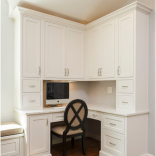 Customer Inset Large Kitchen with Eat in Area and Desk