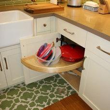 Craftsman Kitchen by Custom Spaces Design