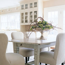 Transitional Kitchen by Cynthia Crossley Interior Designs