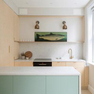 Nautical kitchen in Sussex.