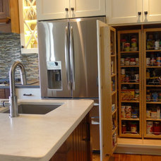 Transitional Kitchen by Susan Brook Interiors