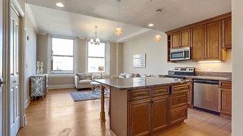 D1 New York Glaze kitchen cabinet