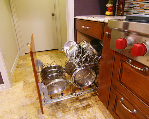 kitchen storage ideas for pots and pans best pan storage design ideas amp remodel pictures houzz 27879