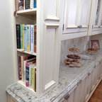 Built-In Hutch Area - Traditional - Kitchen - Dallas - by Kitchen Design Concepts