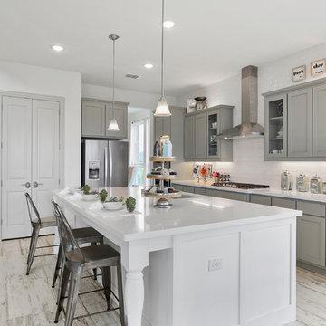 Dallas, Texas | Hawkins Meadow - Classic Stanford Kitchen