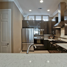 Contemporary Kitchen by J Campbell Interiors